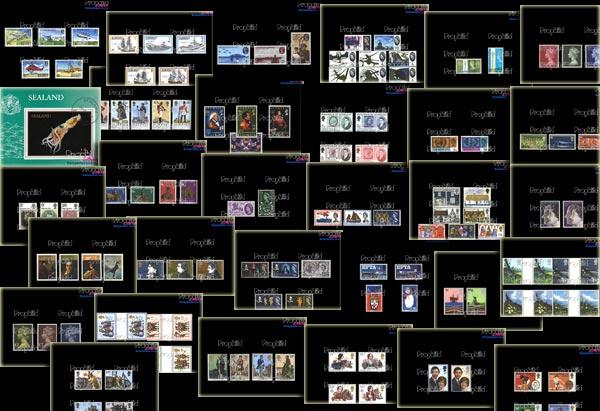 BR.Deutschland Briefmarken f/ür Sammler Prophila Collection BRD W17Y II 1958 Heuss