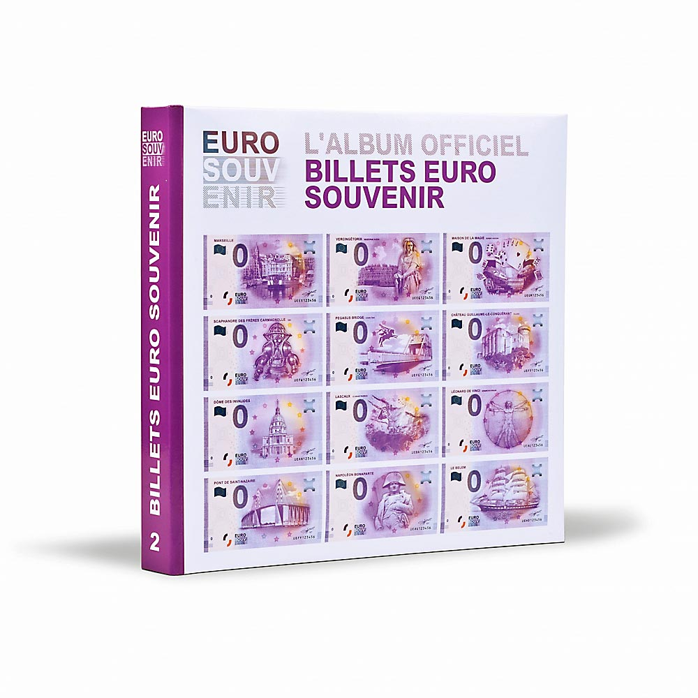 287e86f074 Leuchtturm | Coin albums, binders, sheets | Illustrated albums for Euro  Souvenir banknotes, volume 1 - 3 (le358824) Price: 64,95 EUR -  Vordruckalbum für ...