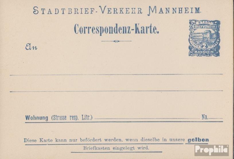 Deutschland Dt Privatpost Privatunternehmen Mannheim Privat